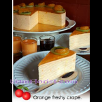 4094 Orange Freshy  Crape