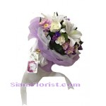 2249  Bouquet of flowers Down Town start US$40