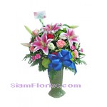 2255  Vase of Flowers  start US$80