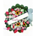 2307  Sympathy Fresh Flowers click for detail