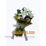 2305  Bouquet of Lily and carmantions  start US$39.60 click for detail