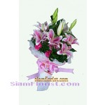 2303  Bouquet of Lilies start US$62  more detail click
