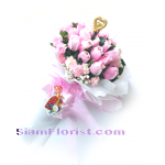 2527V Bouquet of Roses  Click for detail