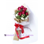 2495NV Bouquet of Roses  Click for detail
