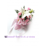 1059V Bouquet of Lily carnations​  Click for detail