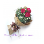1097V Bouquet of Roses  Click for detail