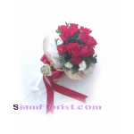 1101V Bouquet of Roses carnations​  Click for detail