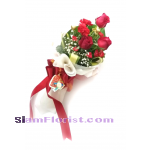 1115V Bouquet of Roses  Click for detail