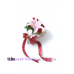 1058 Bouquet of Single Lily. more detail click