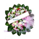 W2412  Sympathy Flowers Wreath