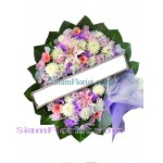 W2414  Sympathy Flowers Wreath