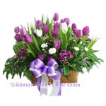 2234  ฺBasket  of Tulips  start US$106