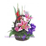 2236  Basket  of Flowers  start US$54