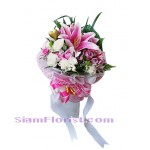 2242  Bouquet of flowers Down Town more detail click
