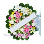 2232  Sympathy Fresh Flowers  start US$80