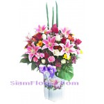2201  Vase of Flowers  start US$158