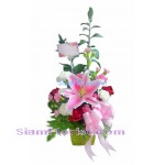 1013 Vase of Mixed Flower Click for detail