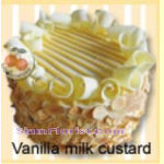 4087 Vanilla Milk Custard Cake