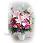 2080   Vase of Mixed Fresh Flowers